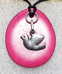 Charm Necklace Dove