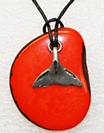 Charm Necklace Whale Tail