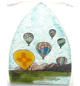 Hot Air Ballon Glass Nightlight