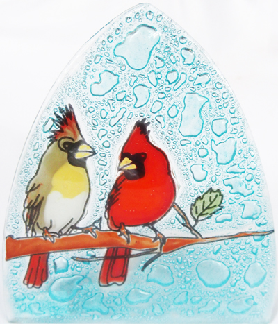Cardinal Bird Nightlight