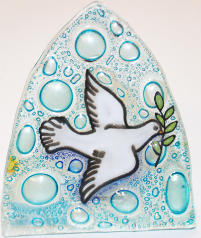 Dove Glass Nightlight