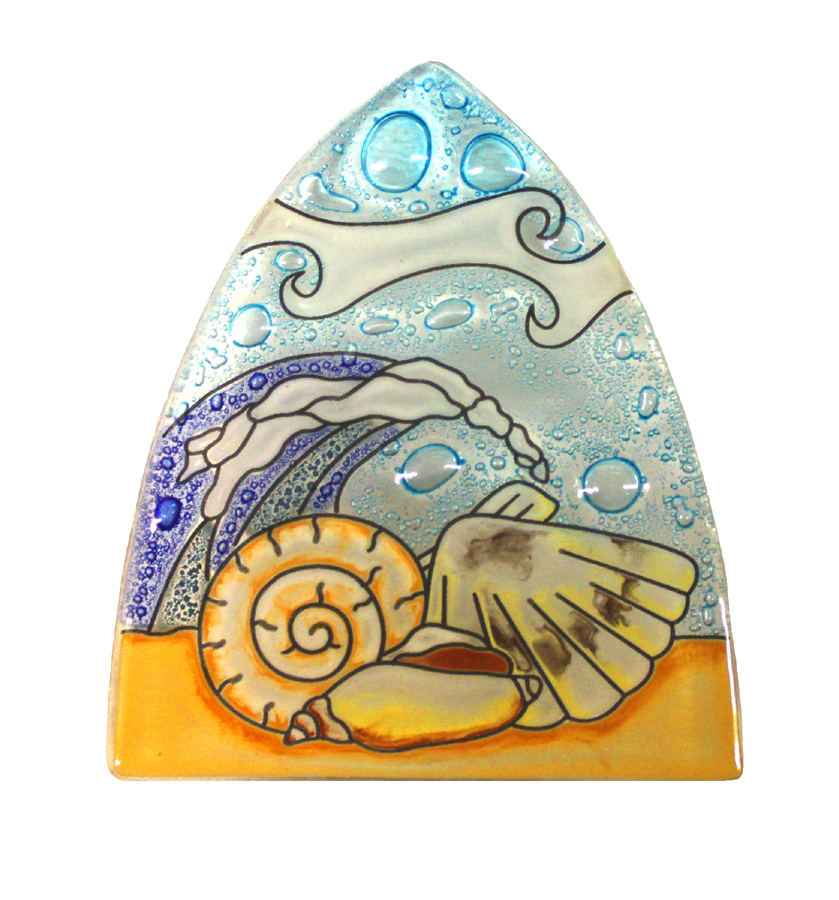 Sea Shells Glass Nightlight
