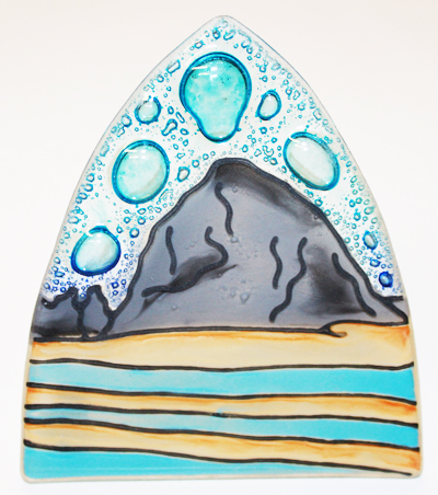 Haystack  Rock Glass Nightlight