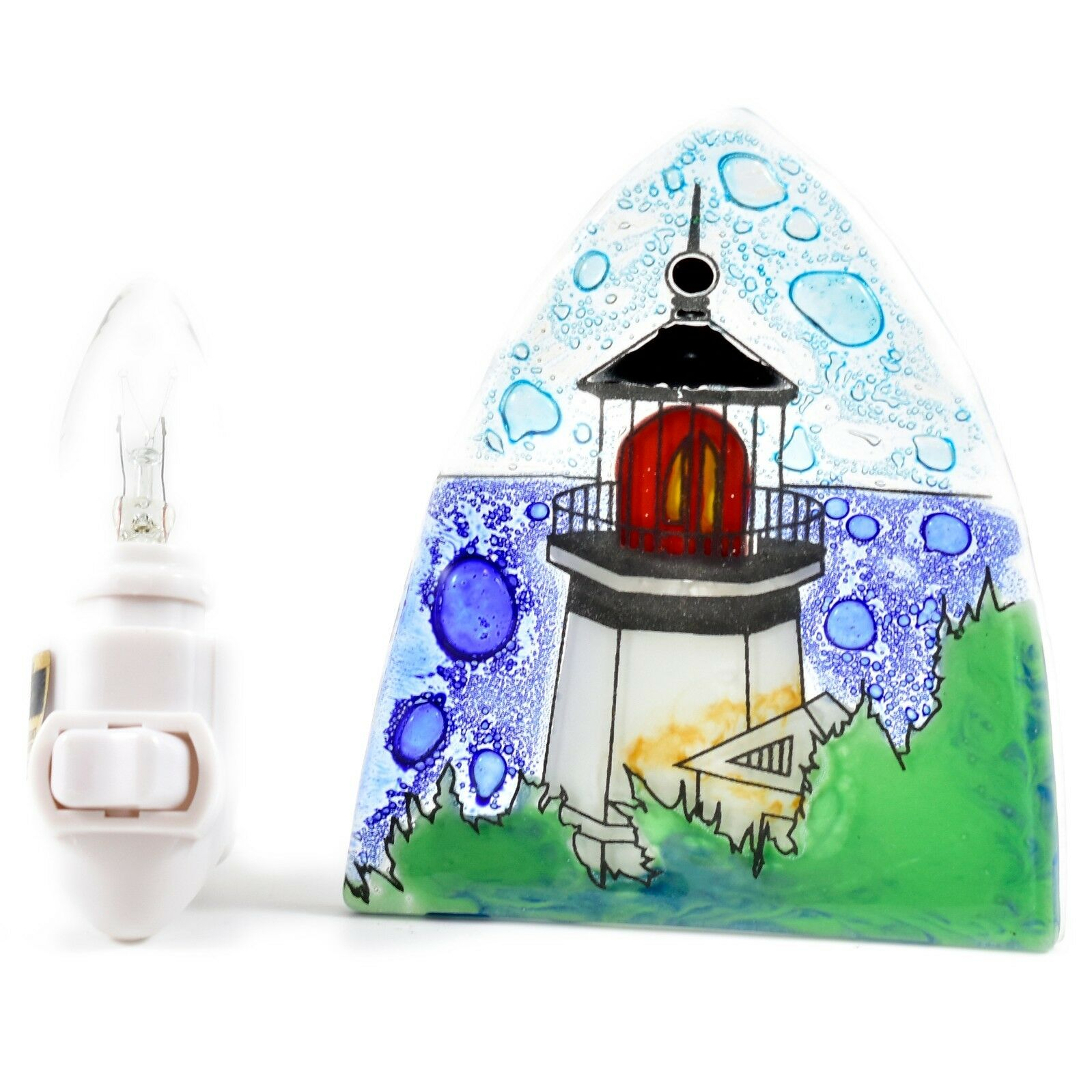 Cabo Blanco Light House Glass Nightlight
