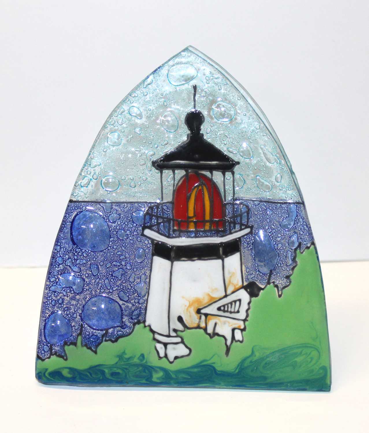 Light House Cape Meare Glass Nightlight
