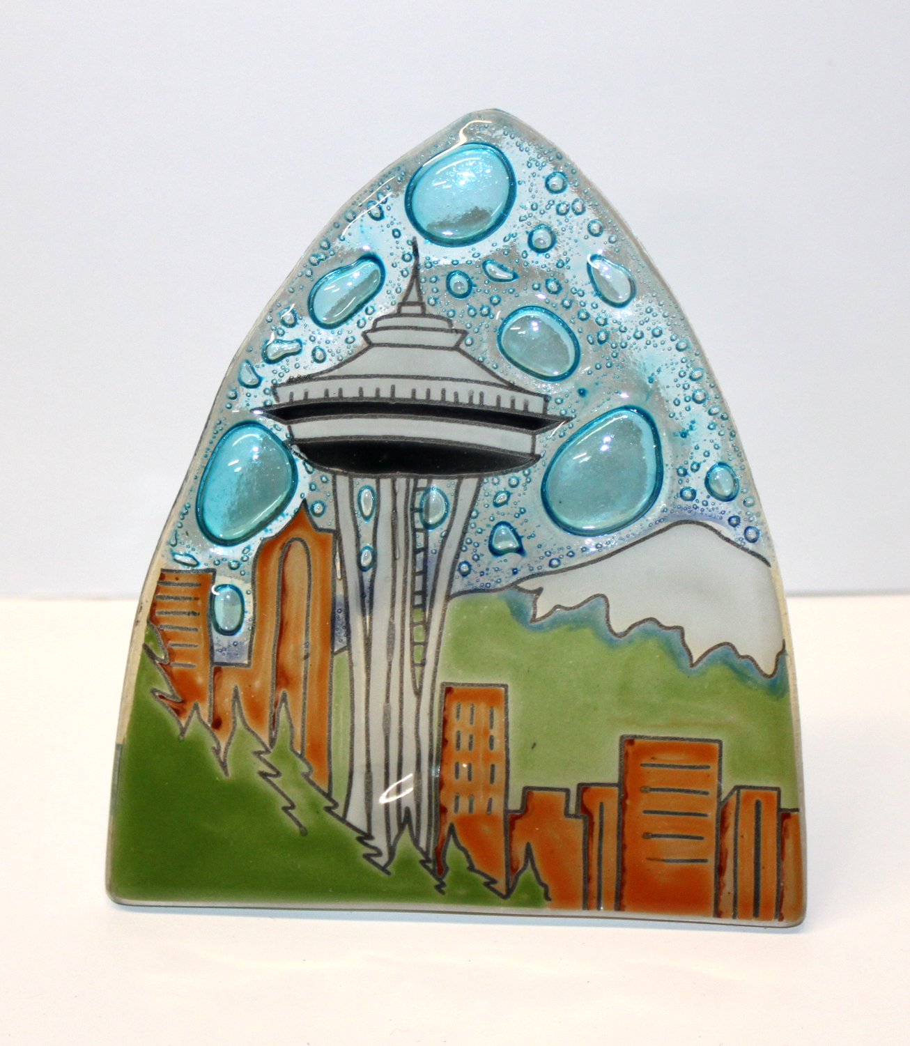 Space Needle Glass Nightlight