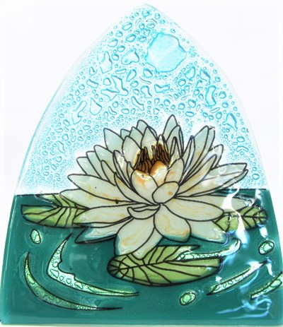 White Lotus Flower Nightlight