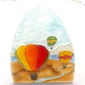 Hot Air Ballon Glass Night Light