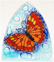 Butterfly Glass Night Light
