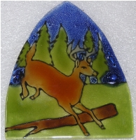 Deer Glass Night Light