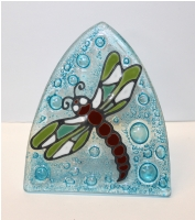 Dragon Fly Glass Night Light