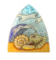 Sea Shells Glass Night Light