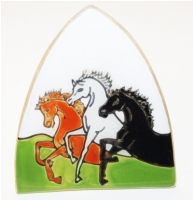 Arabian Horse Glass Night Light