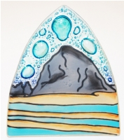 Haystack  Rock Glass Night Light