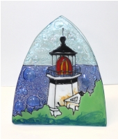 Light House Cape Meare Glass Night Light