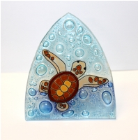 Baby Sea Turtle Glass Night Light