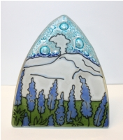 Mount St Helen Glass Night Light