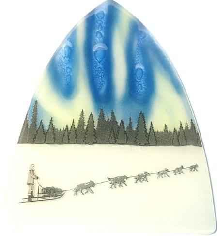 Northem Light Sled Dog Night Light