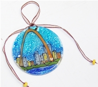 Saint Louis Arch Ornament
