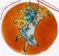 Butterfly  Fairy Ornament