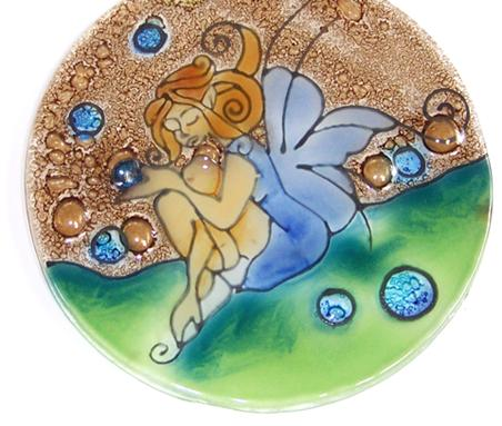 Spheres  Fairy Ornament