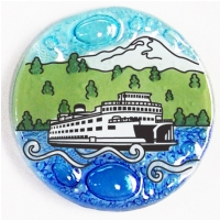 Ferry Boat  Ornament