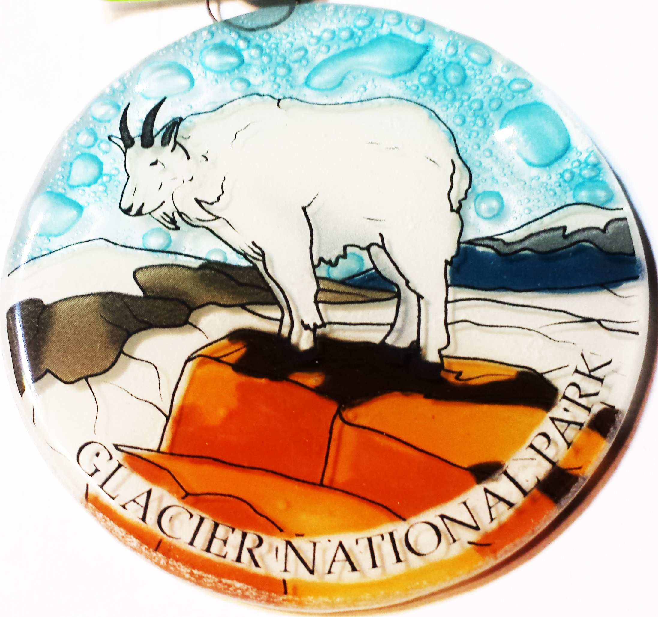 Mountian Goat Ornament