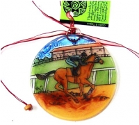 Race Horse Ornament