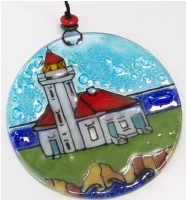 Light House Cape Arago, OR Ornament