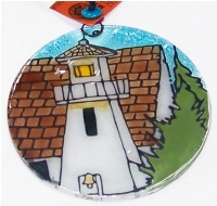Light House Clef of the Rock, OR Ornament