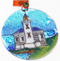 Light House Coquille River, OR  Ornament
