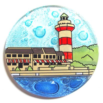 Light House Harbor Town, NC Ornament
