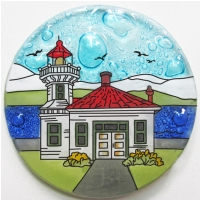 Light House Mukilteo, WA Ornament