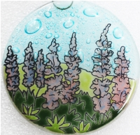 Lupine Flowers Ornament