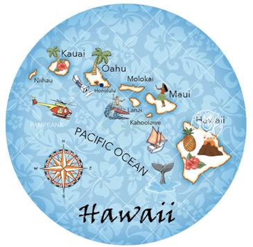 Hiwaiian Map