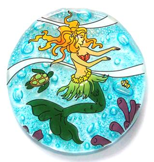Hula Mermaid Ornament