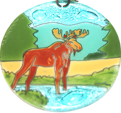 Male Moose ornament