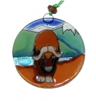 Musk Ox Ornament