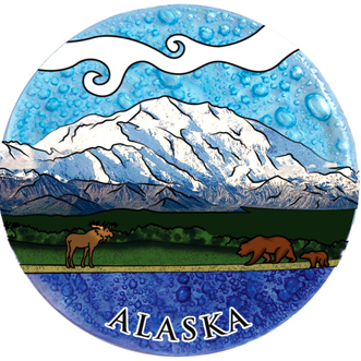 Mount Denali Ornament
