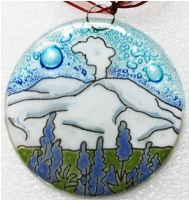 Mount Saint Helens Ornament