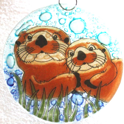 Sea Otter Ornametn