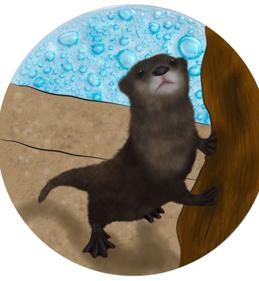 River Otter Ornament