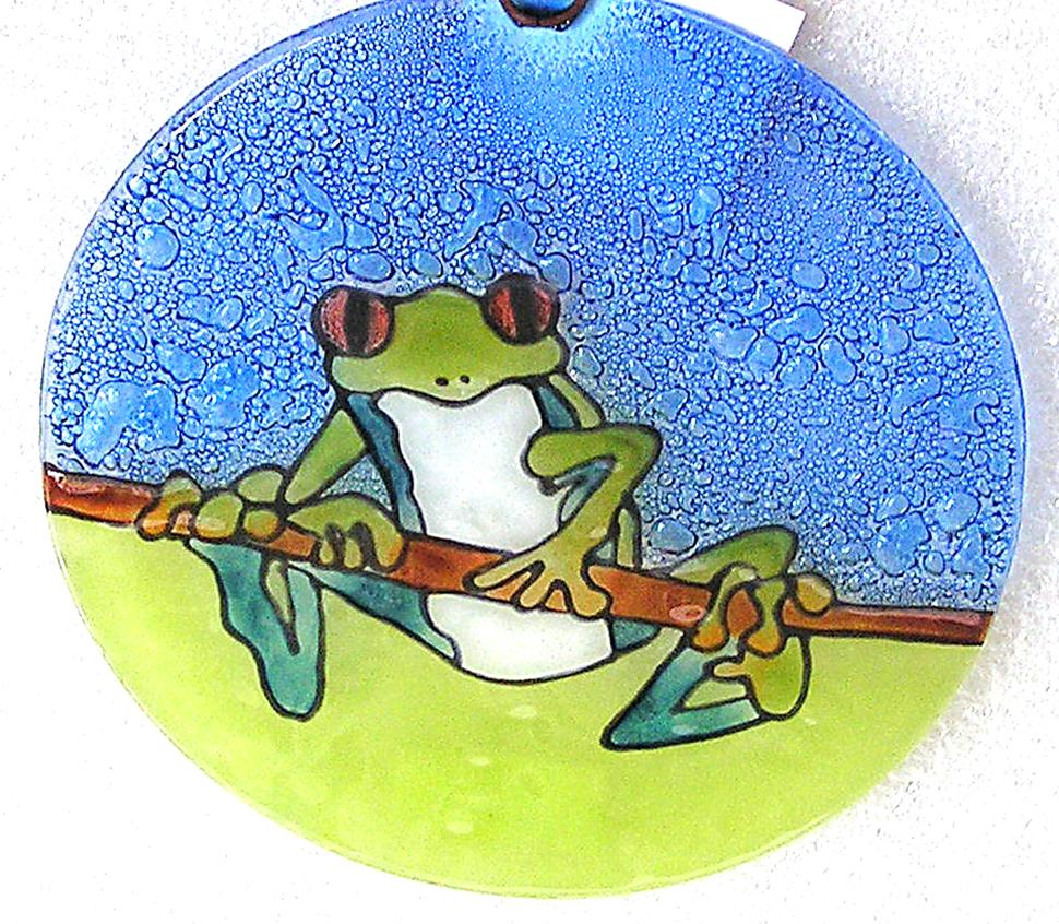 Red Eye Frog Ornament