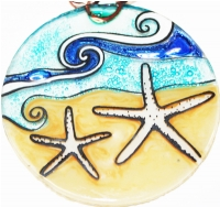 White Star Fish Ornament