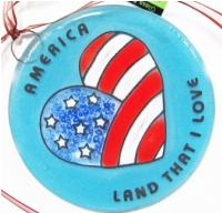 America Land that I Love Ornament