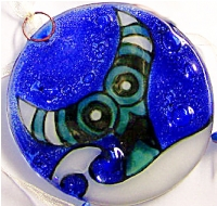Totemic Whale Tail Ornament