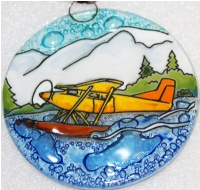 Landing Float Plane Ornament