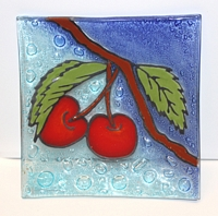 Cherries  Medium Plate