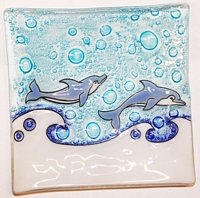Dolphins  Medium Plate