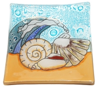 Sea Shells  Medium Plate